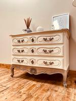 French Antique Style Drawers / Parquet Chest of Drawers / Louis XV Style Drawers (8 of 10)