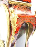 Wow! Phenomenal French Boulle Mantel Clock Rare 8-day Striking Bracket Clock Superb Condition (15 of 22)