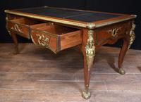 Antique Bureau Plat Desk - French Empire 1930 (9 of 12)