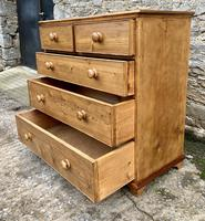 Antique Pine Chest of Drawers (13 of 17)