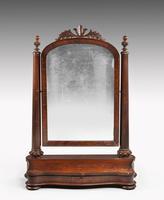 Attractive & Original 19th Century Toilet Mirror (2 of 6)