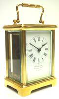 Fine Antique French 8-day Carriage Clock Timepiece by Drew & Sons London (2 of 11)
