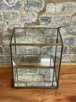 Brass Counter Top Cabinet