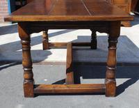 1960's Heavy Oak Refectory Table (3 of 6)