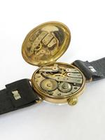 Gents 9ct gold trench watch, 1914 (4 of 6)
