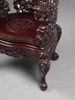 Antique Chinese Carved Hardwood Armchair (11 of 16)
