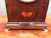 Edwardian Inlaid Mahogany Bracket Clock (3 of 11)