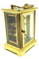 Classic Antique French 8-day Carriage Clock Timepiece c.1890 - L Epee & Camerer Cuss (5 of 10)