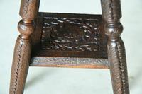 Small Eastern Carved Side Table (10 of 11)