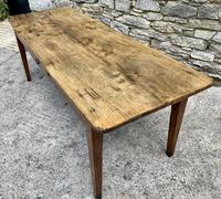 Large French Sycamore & Elm Farmhouse Table (9 of 21)