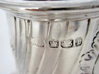Large Victorian Silver Sugar Caster in a Baluster Shape and Pull Off Lid (6 of 6)
