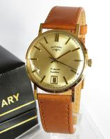 Gents 9ct Gold Rotary Wrist Watch, 1973