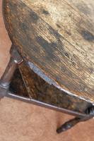 Late 17th or Early 18th Century Cricket Table in Unrestored Condition (5 of 7)