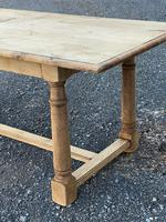 Rustic Bleached Oak Farmhouse Dining Table (5 of 25)