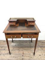 Antique Edwardian Mahogany Bonheur Du Jour Desk (6 of 15)