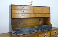 Vintage Black Painted Carpenters Tool Drawers (7 of 8)