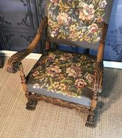 Carved Oak Chair (4 of 19)
