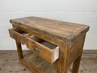 Reclaimed Wooden Sideboard with Two Drawers (9 of 10)