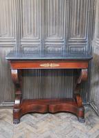 French Mahogany Console Table