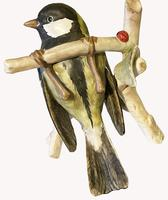 A Porcelain figure Of a Hanging Titmouse by Goebel of Germany (4 of 5)