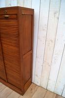 Oak Tambour Filing Cabinet (7 of 8)
