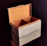 Art Deco Sterling Silver Cigarette Box (8 of 13)