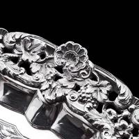 Magnificent Georgian Sterling Silver Tray / Salver with Military Lieutenant Interest - James Fray 1833 (17 of 23)