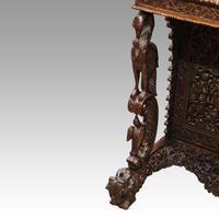 Antique Burmese Davenport (4 of 13)