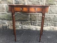 Quality Mahogany Hall Console Table (5 of 7)