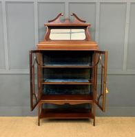 Inlaid Mahogany Edwardian Display Cabinet (11 of 12)