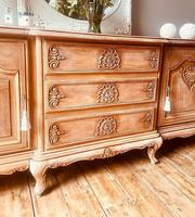 French Antique Style Large Oak Sideboard / Cupboard (9 of 10)