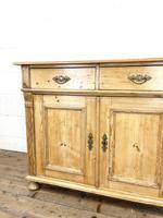 19th Century Antique Pine Cupboard (4 of 10)
