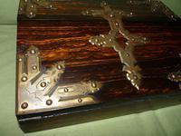 QUALITY Betjemann Coromandel Writing Box. 100% Original c1870 (13 of 15)