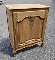 French Bleached Oak Side Cupboard (2 of 16)