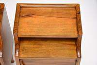 1960's Pair of Vintage Italian Walnut Bedside Cabinets (10 of 10)