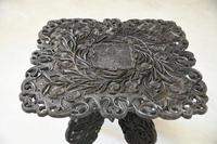Anglo Indian Carved Table (9 of 11)