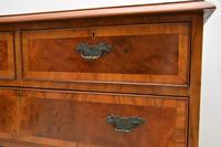 Antique Burr  Walnut Chest of Drawers (4 of 11)
