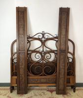 Antique Bentwood Large Double Bed By Jacob & Josef Kohn c.1900 (8 of 12)