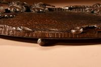 Fine Wrought Iron Grapevines Tray (7 of 11)