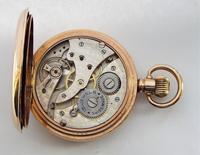 Antique 1920s Swiss Full Hunter Pocket Watch (6 of 6)