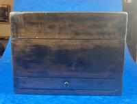 Victorian Ebonised Jewellery Box with Mother of Pearl & Abalone Inlay (16 of 18)