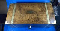 Victorian Brass-bound Walnut Writing Slope with Secret Drawers (24 of 39)