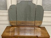 Antique Queen Anne Burr Walnut Dressing Table (7 of 16)