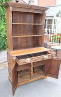 1900's Large Carved Oak Bookcase with Good Carving (2 of 6)