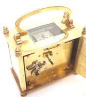 Fine Antique French 8-day Rectangle Carriage Clock Mantel Timepiece c.1890 (8 of 10)