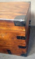 Large 19th Century Camphor Wood Chest V/ Trunk (7 of 11)