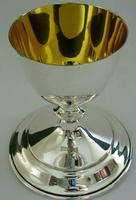Rare Large English Solid Sterling Silver Travelling Goblet Chalice 1949 (11 of 12)