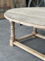 Bleached Oak Drop Flap Coffee Table (13 of 17)