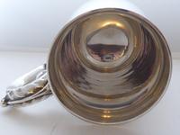 Heavy 1963 Hallmarked Solid Silver 1 One Pint Tankard Christening Mug 337g (5 of 10)