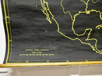 "University Chart ""Black Map of North America (5 of 5)"